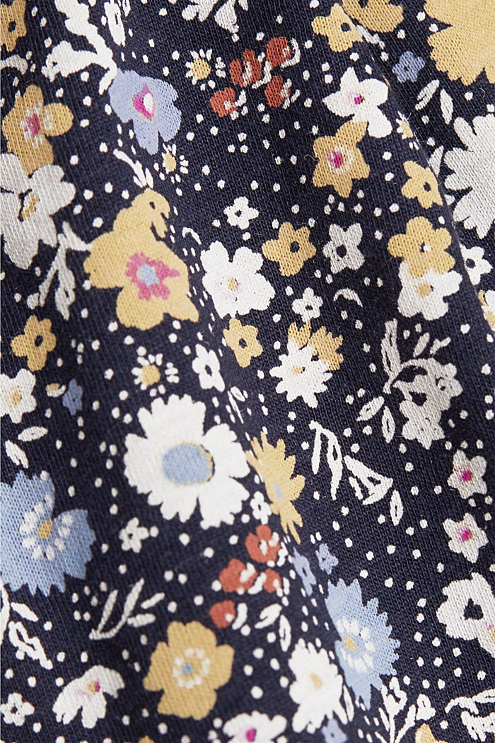 Print-Shirt mit Organic Cotton, NAVY, detail image number 4