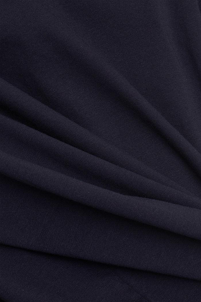 CURVY Print-Shirt, 100% Organic Cotton, NAVY, detail image number 4