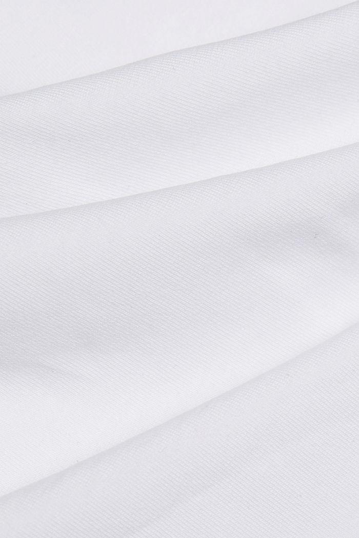 Longsleeve mit Organic Cotton, WHITE, detail image number 4