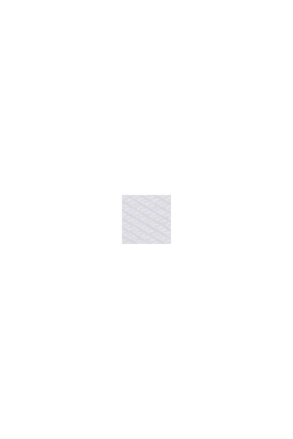 Maglia a manica lunga con cotone biologico, WHITE, swatch