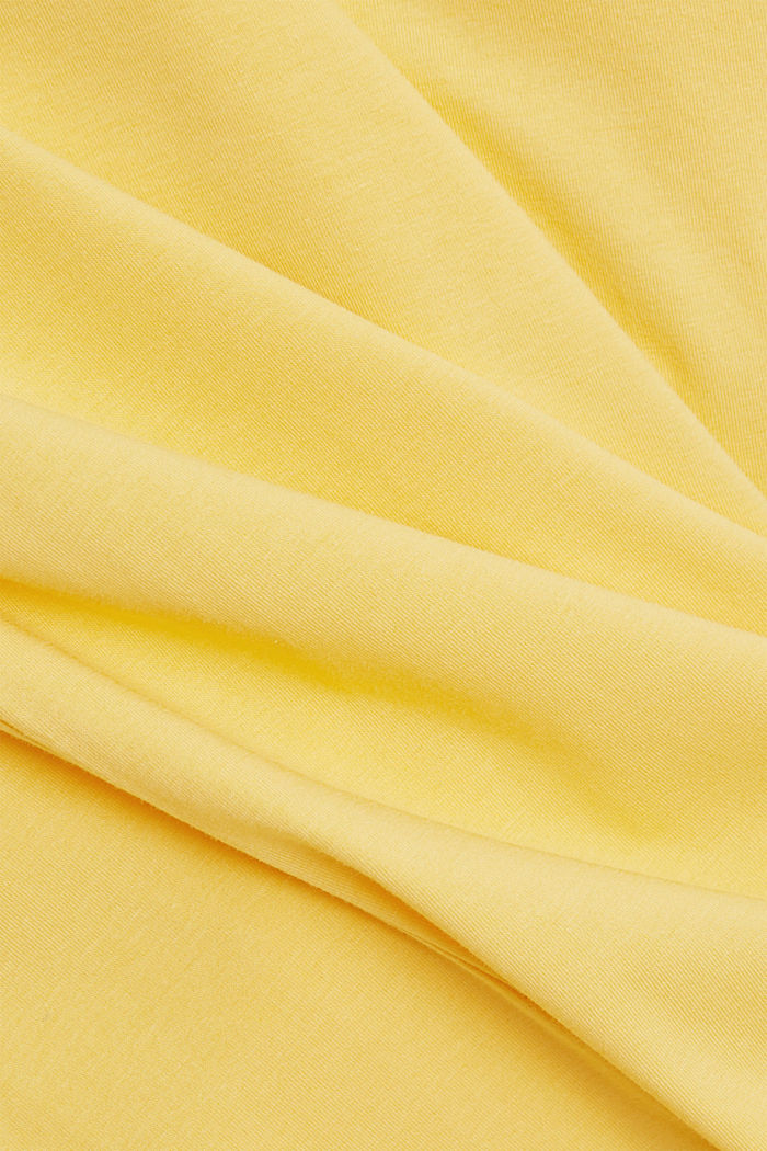 Longsleeve mit Organic Cotton, SUNFLOWER YELLOW, detail image number 4