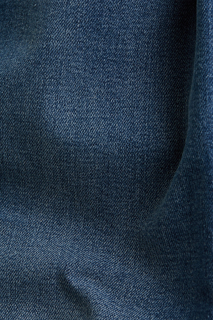 Recycled: dynamic denim with COOLMAX®, BLUE MEDIUM WASHED, detail image number 3
