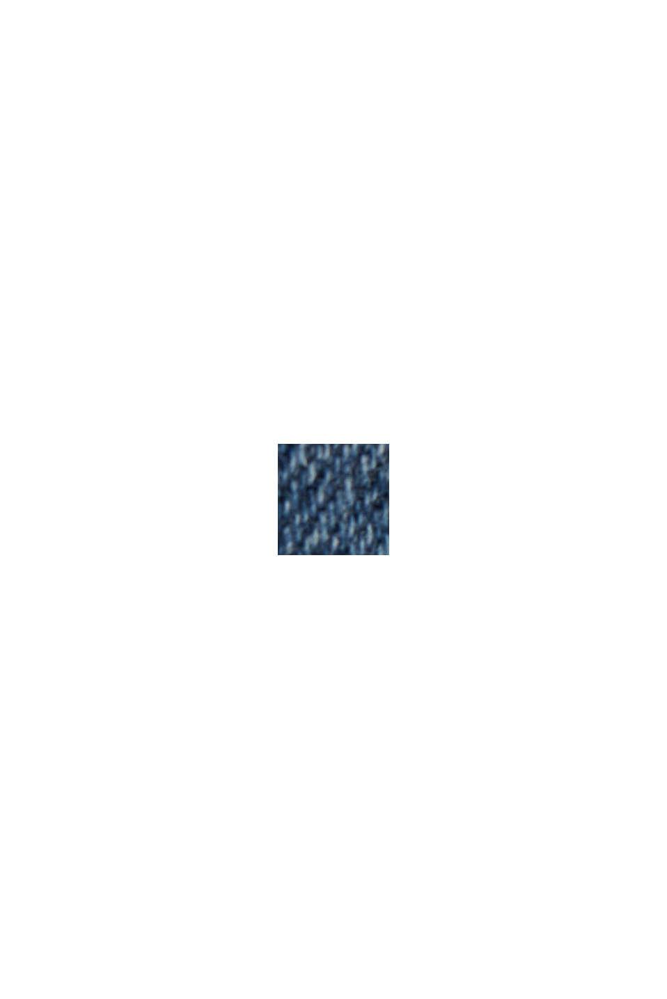 Recycelt: Dynamic Denim mit COOLMAX®, BLUE MEDIUM WASHED, swatch