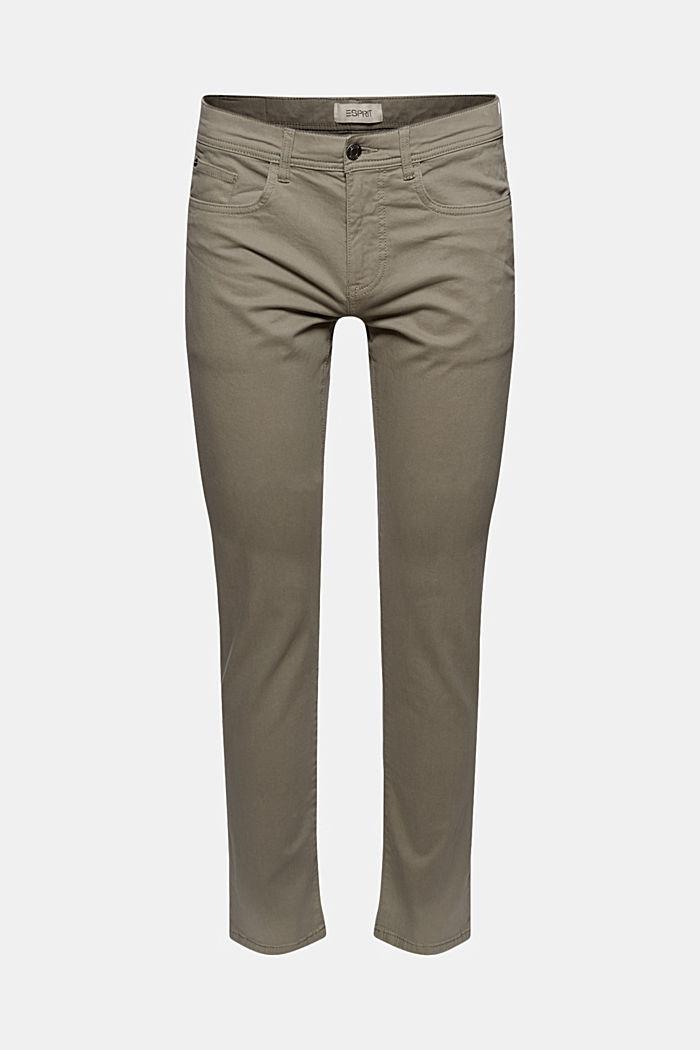 Pantalón elástico ceñido en algodón ecológico