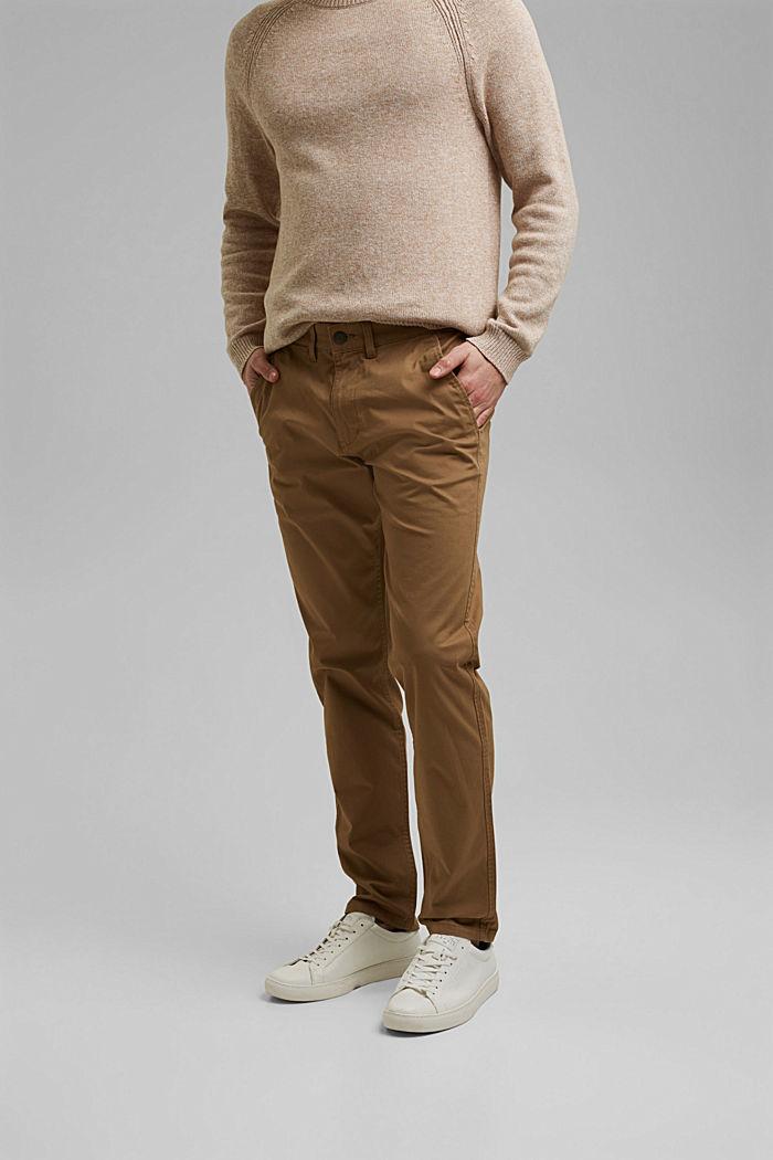 Chino stretch en coton bio