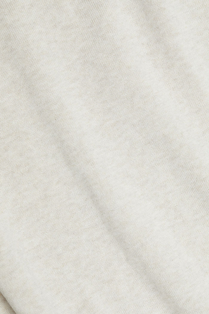 Pullover aus 100% Organic Cotton, OFF WHITE, detail image number 4