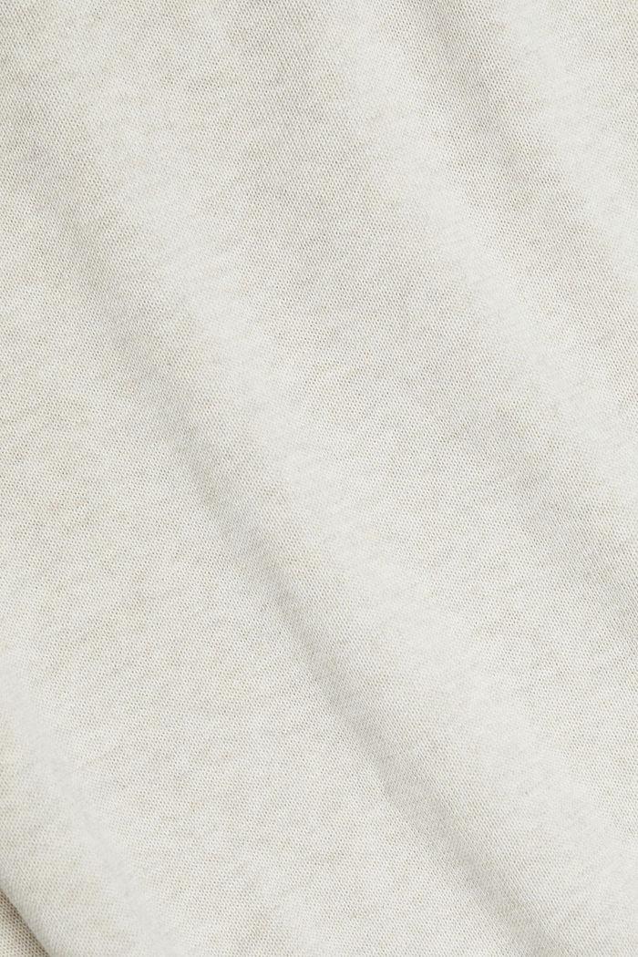 Pull-over 100% coton biologique, OFF WHITE, detail image number 4