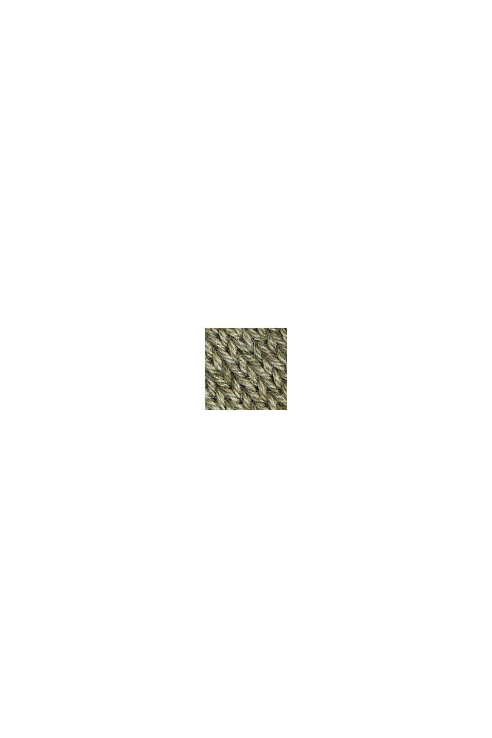 Jersey en 100% algodón ecológico, LIGHT KHAKI, swatch