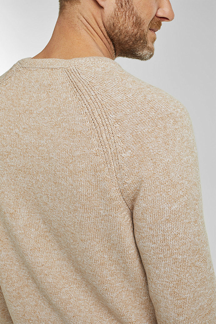Jumper made of 100% organic cotton, BEIGE, detail image number 2
