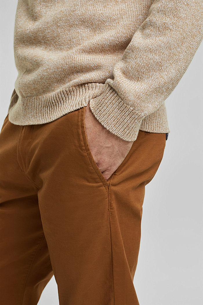 Jumper made of 100% organic cotton, BEIGE, detail image number 5