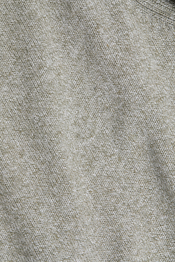 Pullover aus 100% Organic Cotton, LIGHT KHAKI, detail image number 4