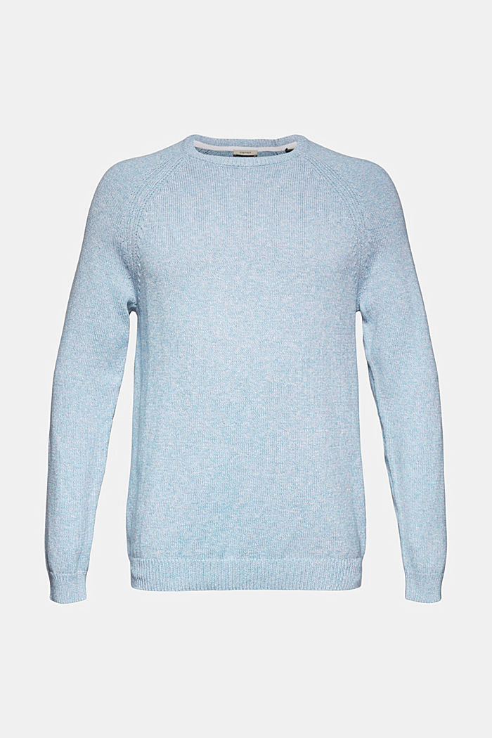 Jumper made of 100% organic cotton, GREY BLUE, detail image number 5