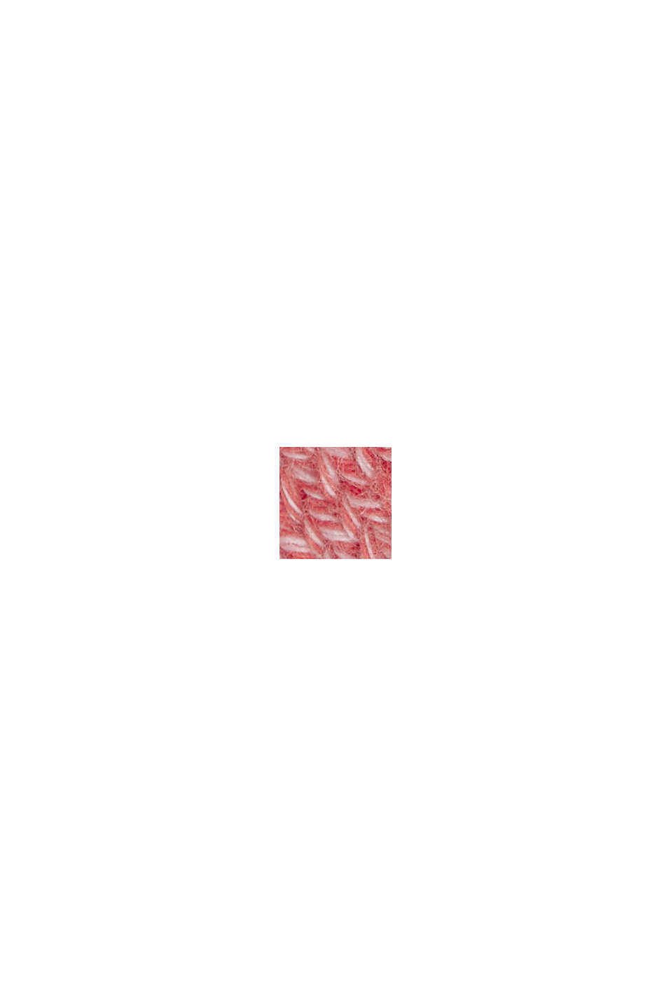 Jersey en 100% algodón ecológico, CORAL RED, swatch