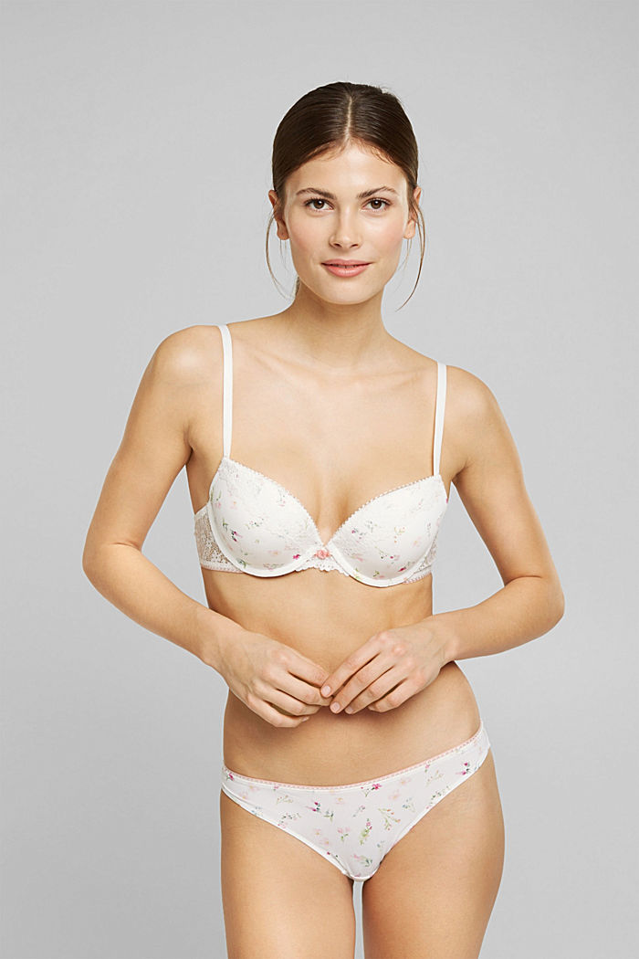 Recycelt: 2er Pack Hipster-Slip, OFF WHITE, detail image number 0
