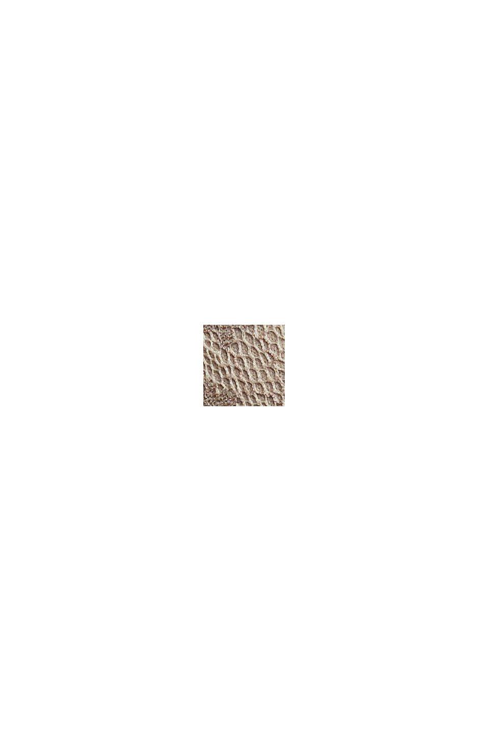 Af genanvendte materialer: vatteret bøjle-bh med blonder, LIGHT TAUPE, swatch