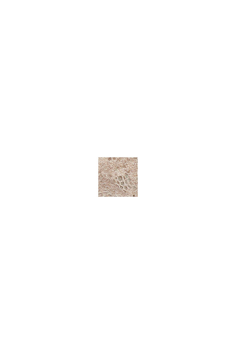 Recycelt: Bügel-BH mit Spitze, LIGHT TAUPE, swatch