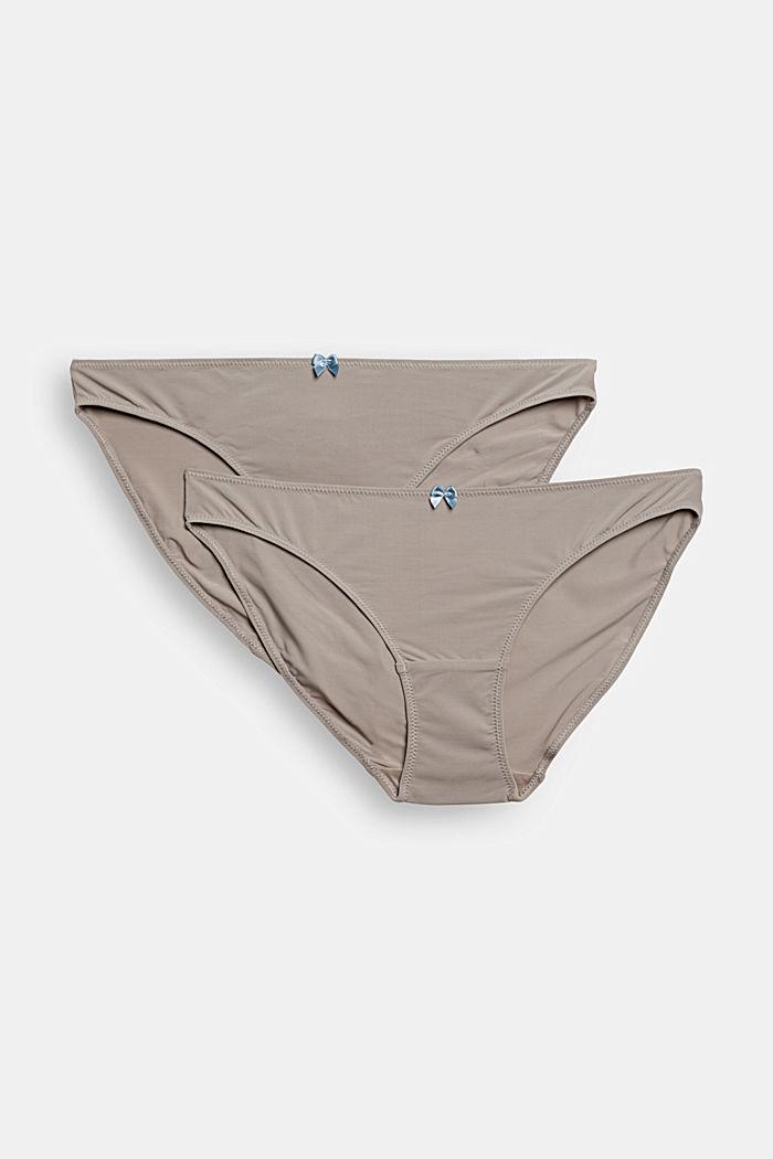 Recycelt: 2er Pack Hipster Slips, LIGHT TAUPE, detail image number 4