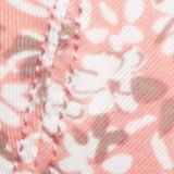 Recycled: padded underwire bra with a print, CORAL, swatch