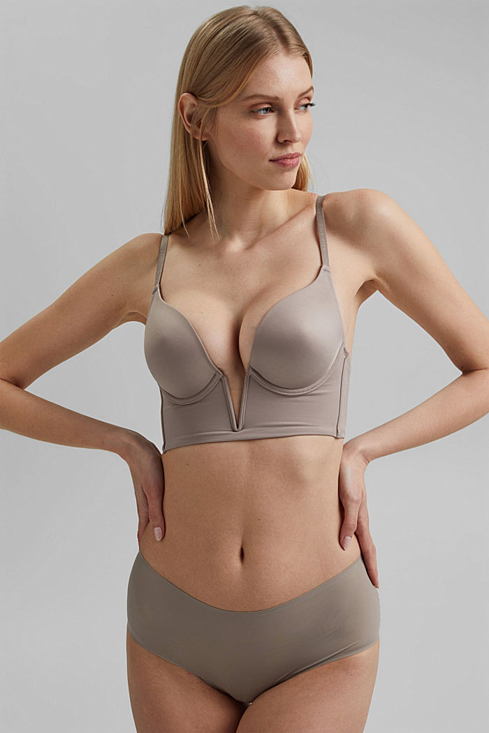 SHAPEWEAR 2er Pack Slips aus Microfaser, LIGHT TAUPE, overview