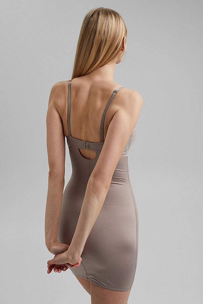 SHAPEWEAR chemise with underwire bra, LIGHT TAUPE, detail image number 1