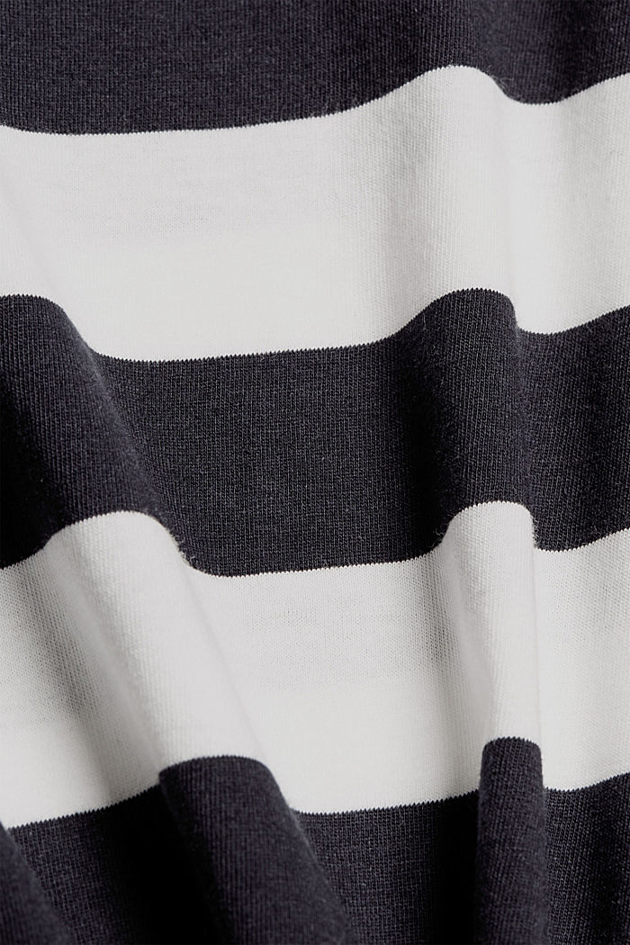 Jersey-Pyjama aus 100% Bio-Baumwolle, NAVY, detail image number 4