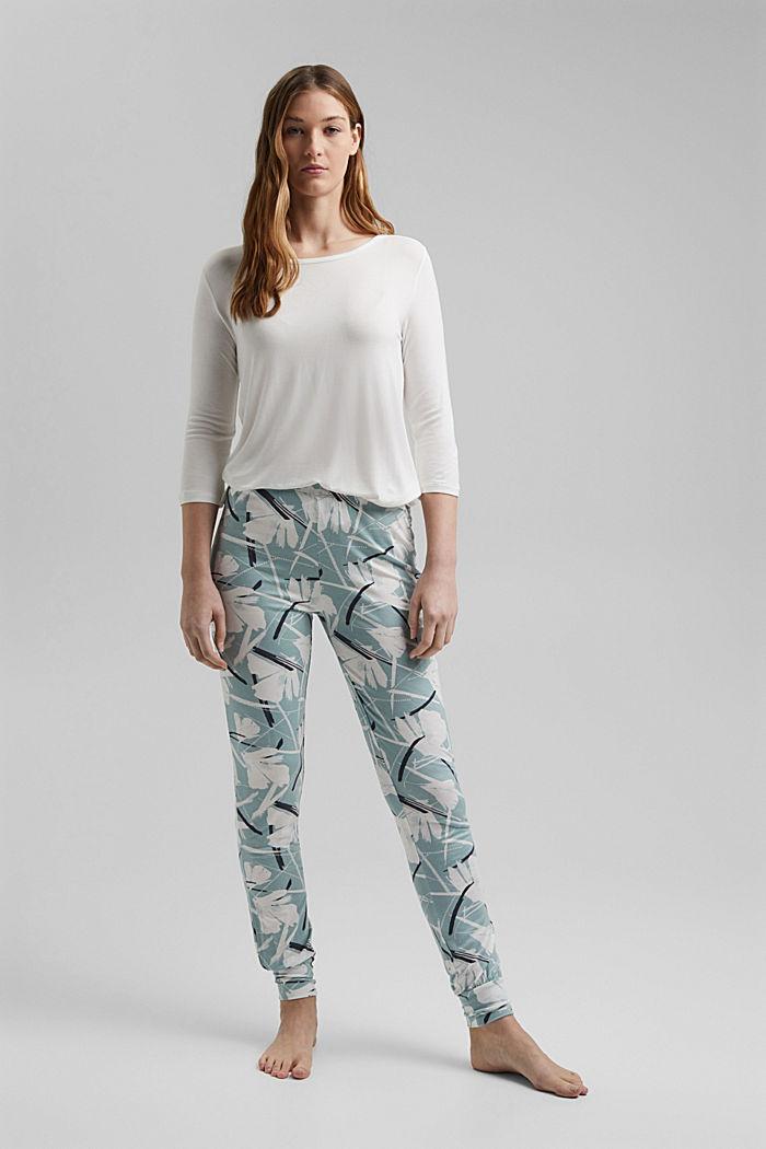 Jersey-Pyjama mit LENZING™ ECOVERO™