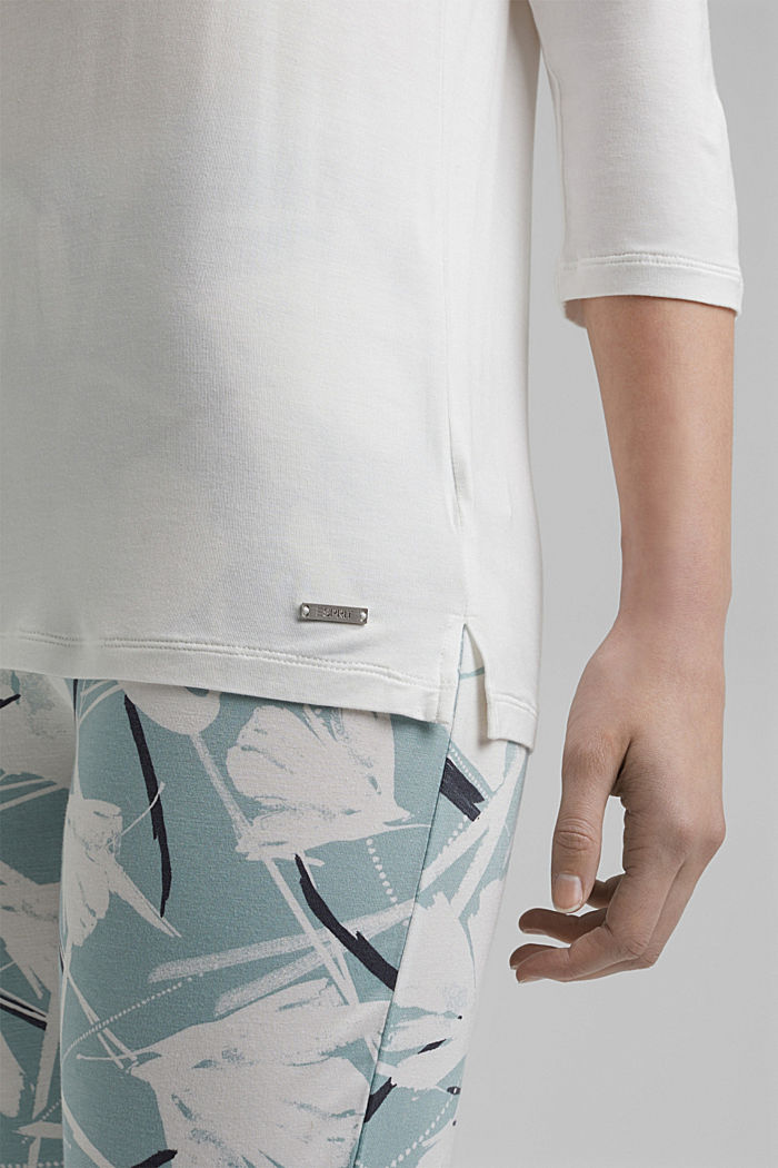 Jersey pyjamas with LENZING™ ECOVERO™, TEAL GREEN, detail image number 2