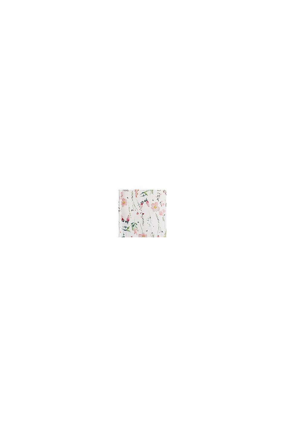 Blomstret natskjorte i LENZING™ ECOVERO™, OFF WHITE, swatch