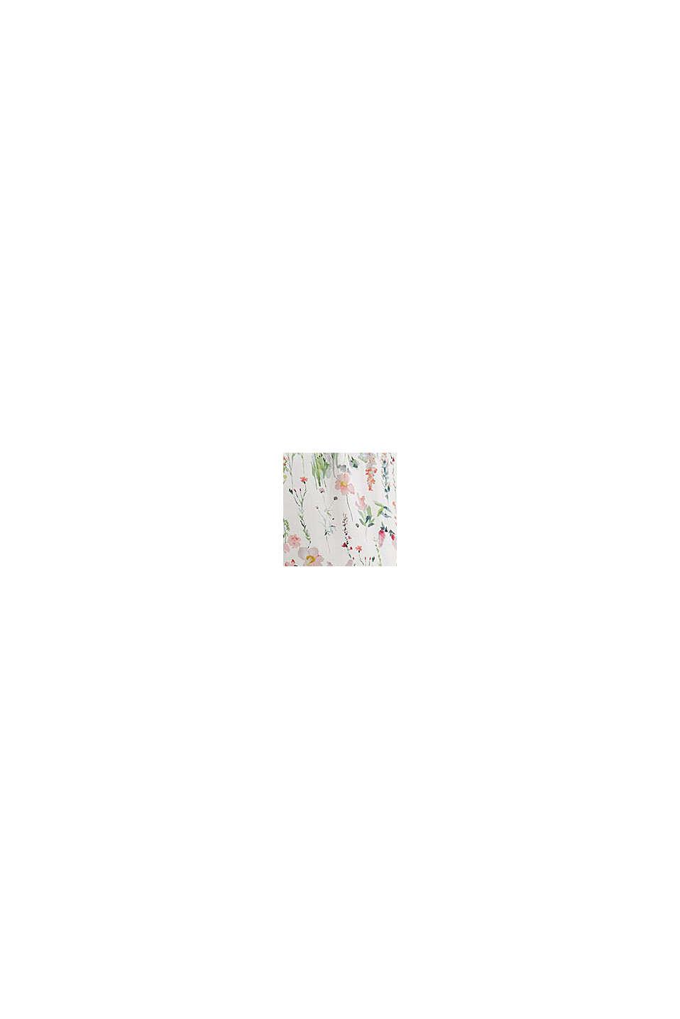 Pantaloni da pigiama cropped in LENZING™ ECOVERO™, OFF WHITE, swatch