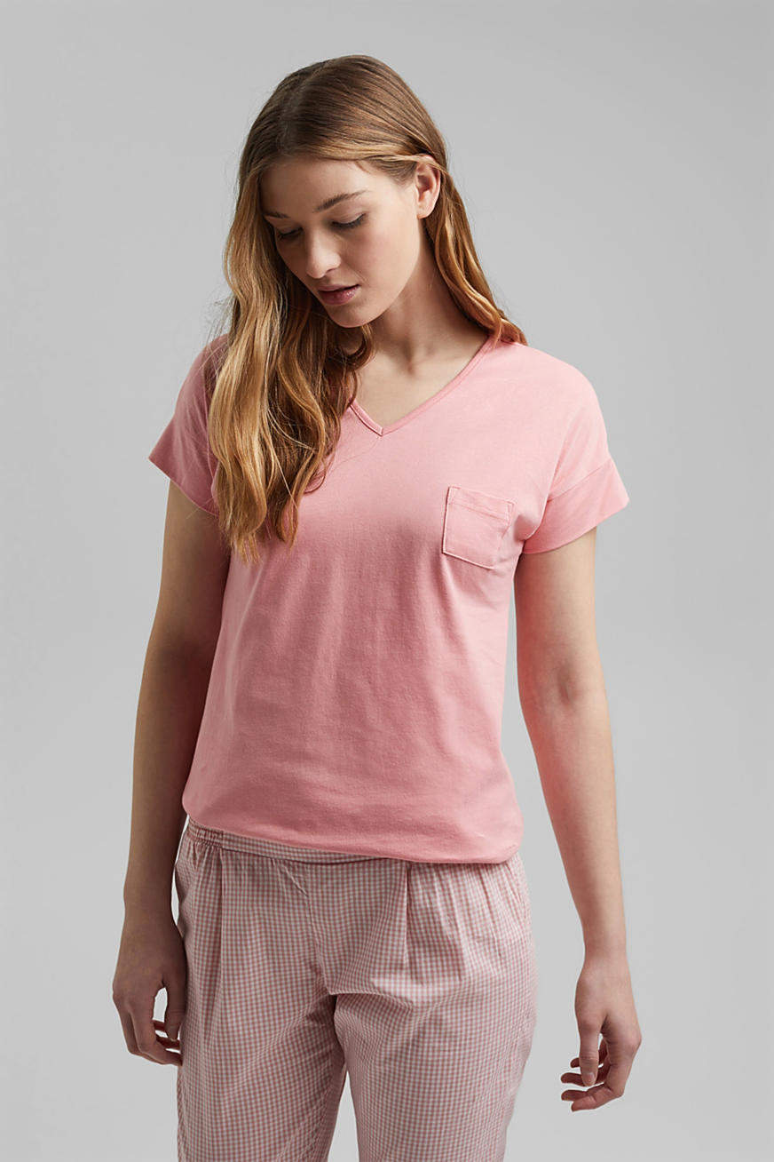 T-shirt stretch, 100 % coton bio