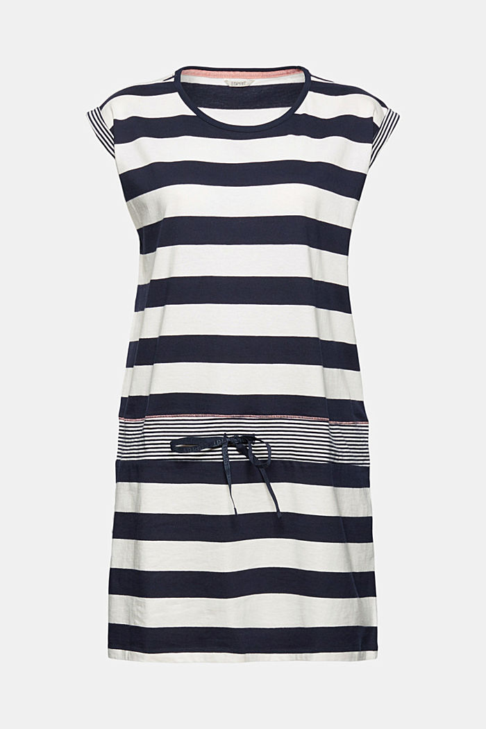 Nightshirt with stripes, 100% organic cotton