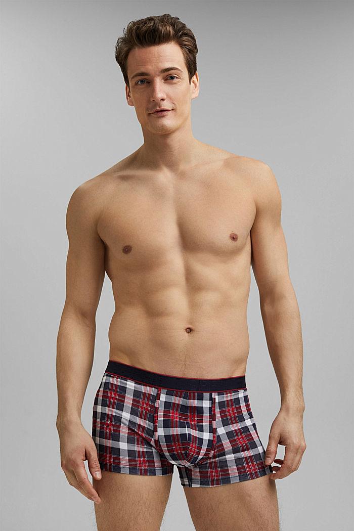 Set van 3 hipster-shorts van katoen-stretch