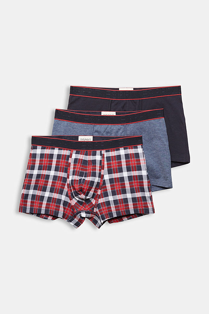 3er-Pack Hipster-Shorts aus Baumwoll-Stretch