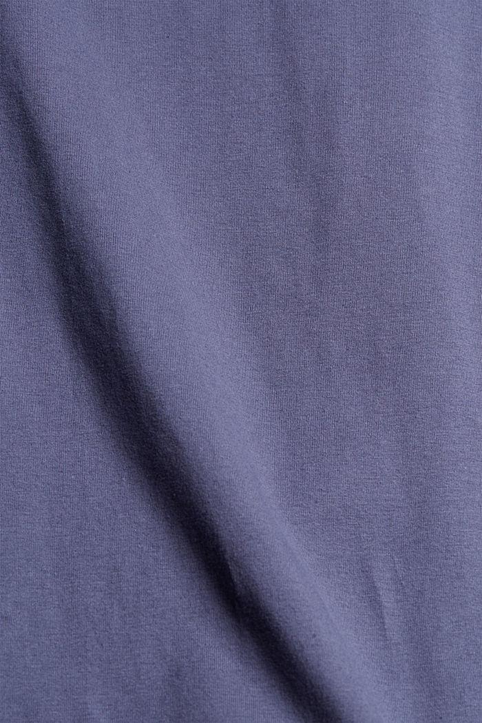 Pyjama mit Karo-Shorts, Organic Cotton, NAVY, detail image number 5