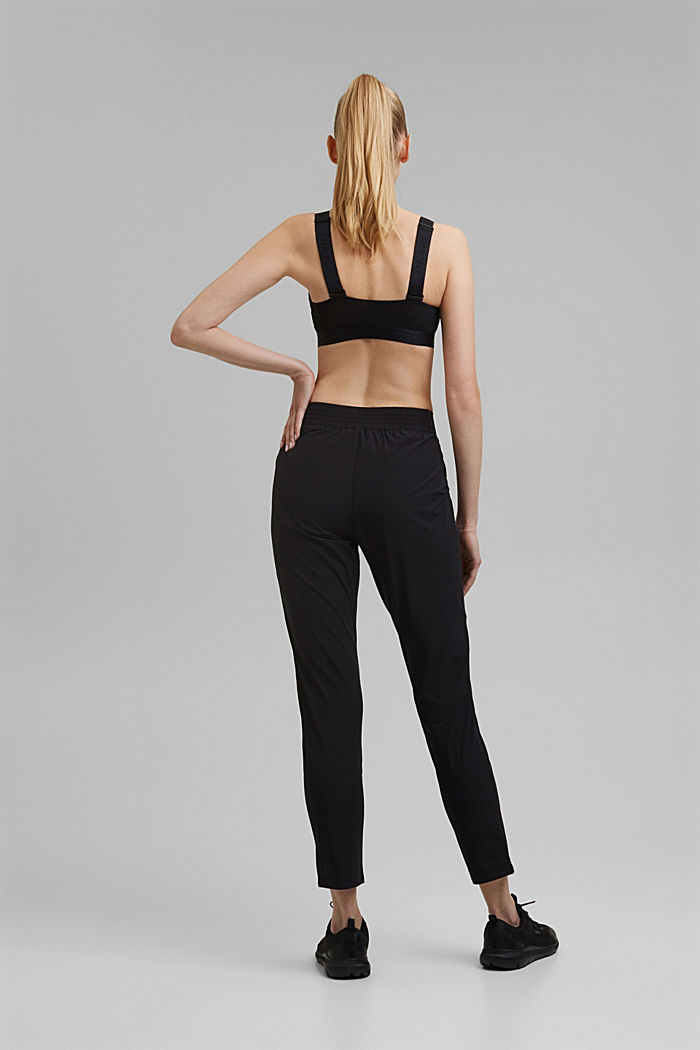 Active Pants mit 4-way-Stretch, BLACK, detail image number 3