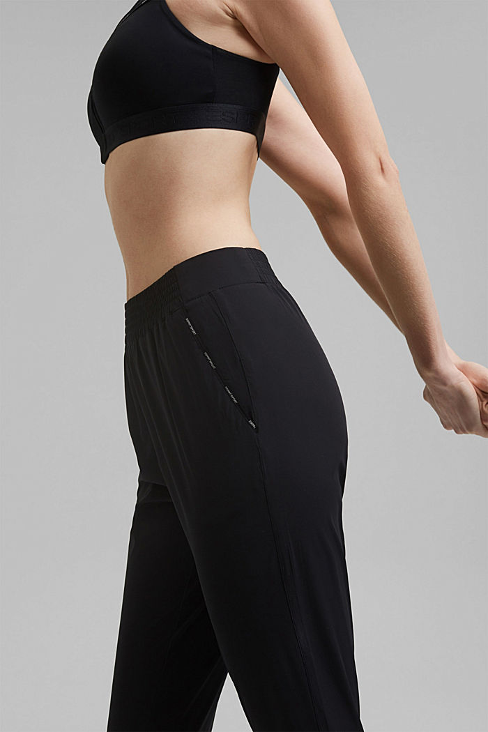 Active Pants mit 4-way-Stretch, BLACK, detail image number 2