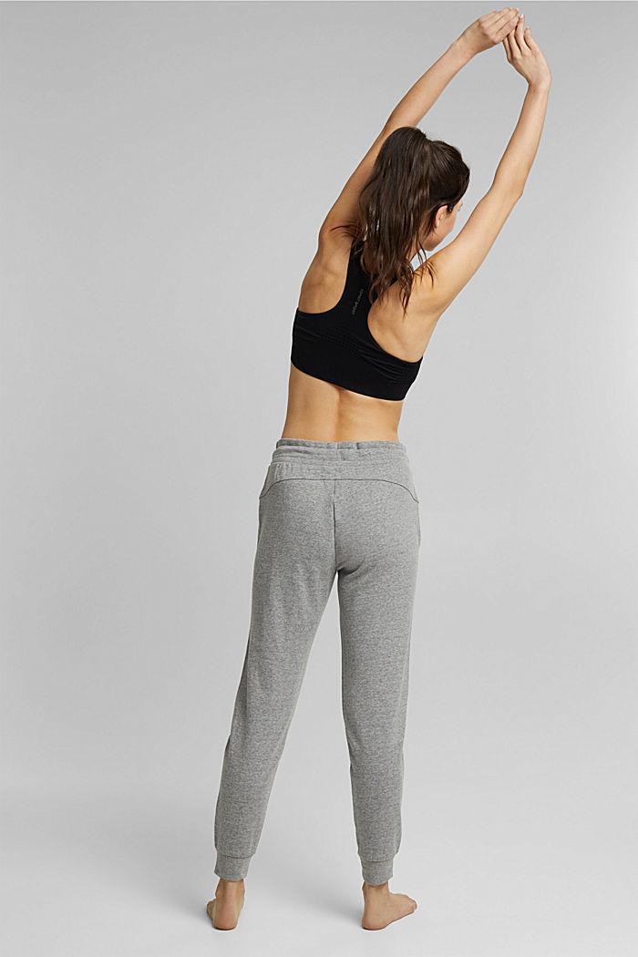 Sweatshirt trousers containing LENZING™ ECOVERO™, MEDIUM GREY, detail image number 3