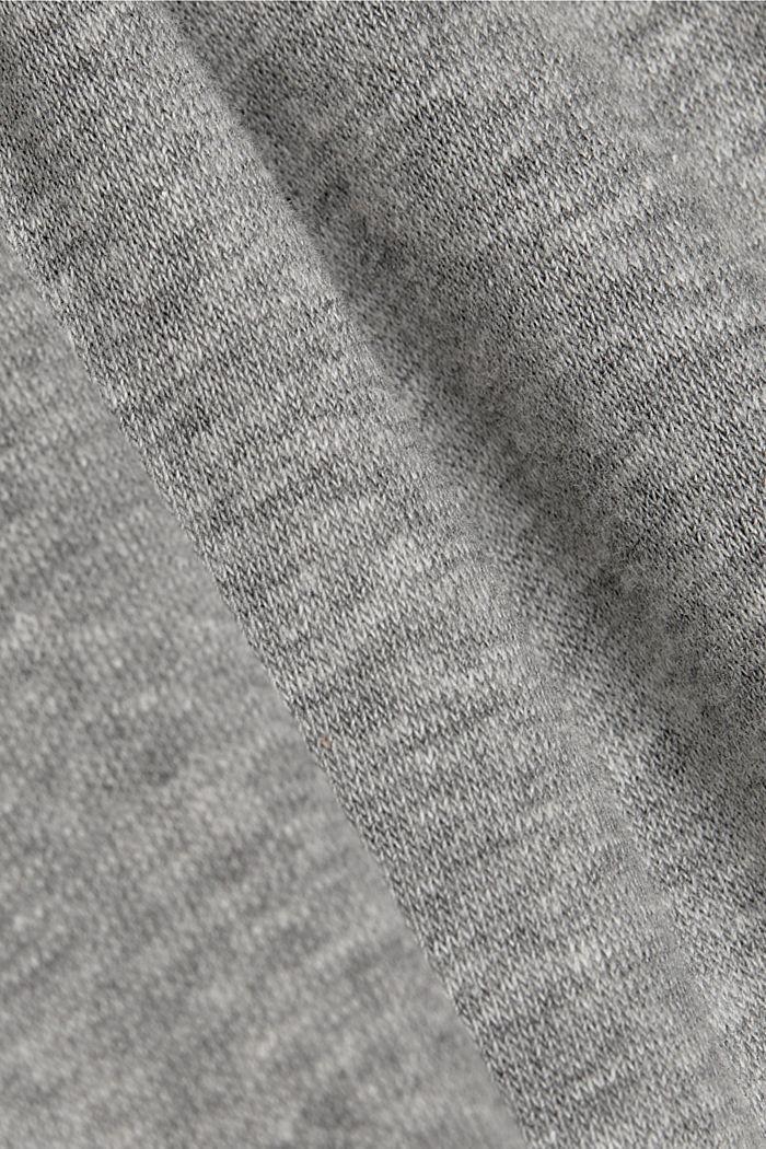 Sweatshirt trousers containing LENZING™ ECOVERO™, MEDIUM GREY, detail image number 4