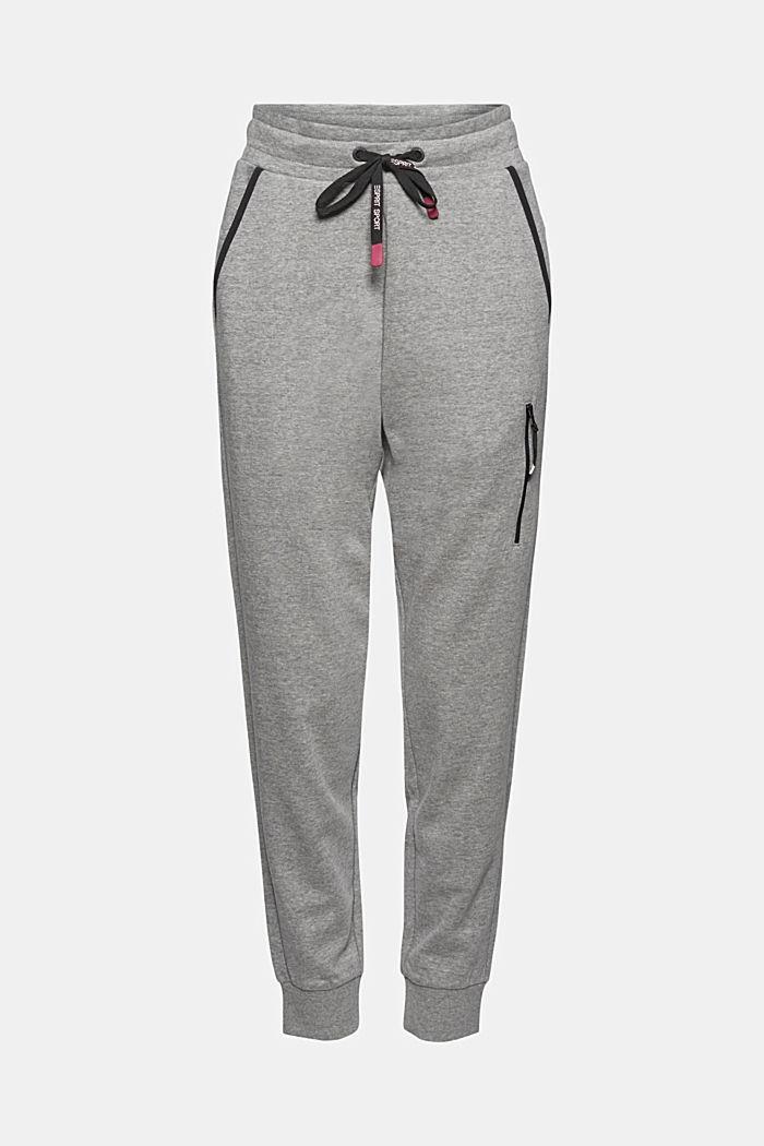 Sweatshirt trousers containing LENZING™ ECOVERO™, MEDIUM GREY, detail image number 6