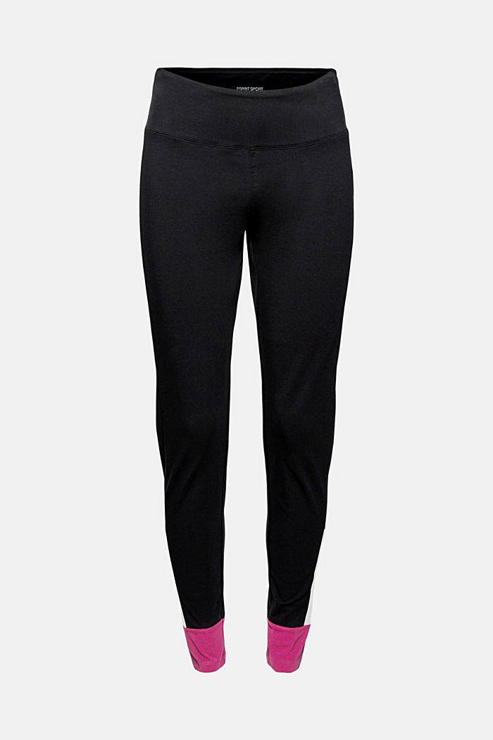 Jersey leggings made of organic cotton, BLACK, detail image number 6