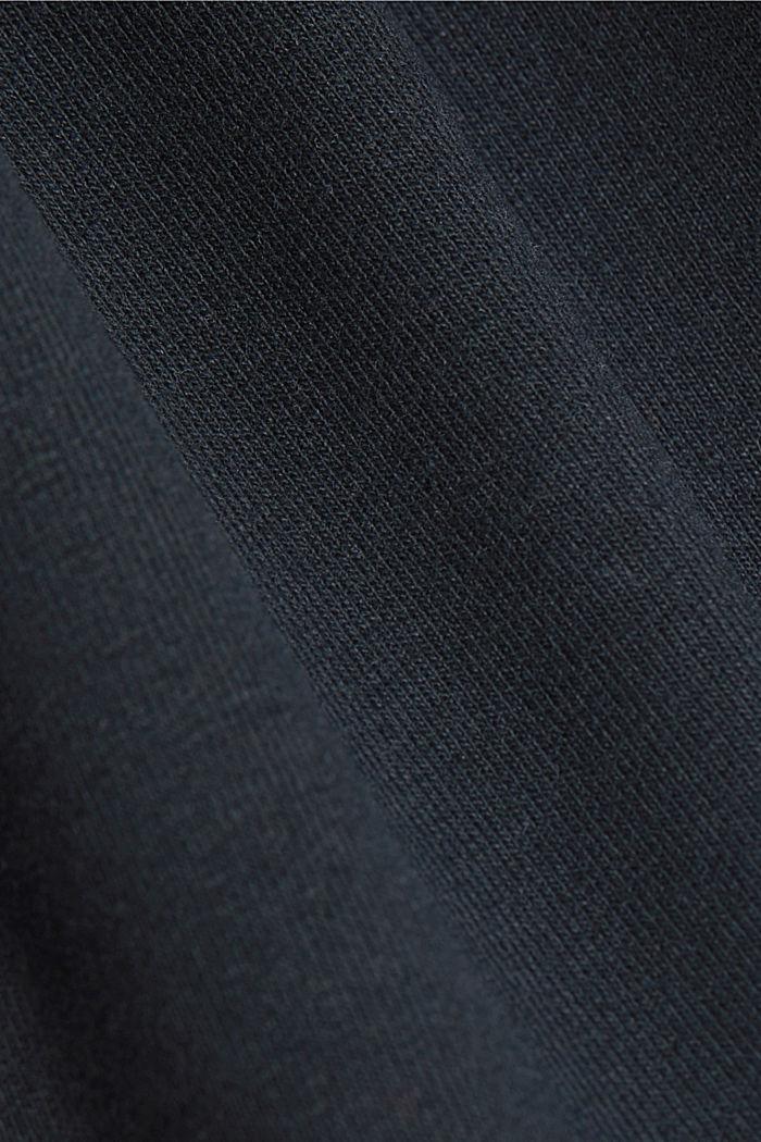 Sweatshirt tracksuit bottoms with organic cotton, BLACK, detail image number 4