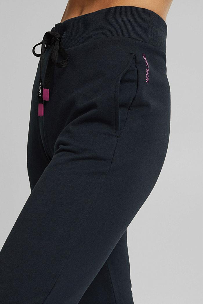 Sweat-Pants mit Organic Cotton, BLACK, detail image number 5