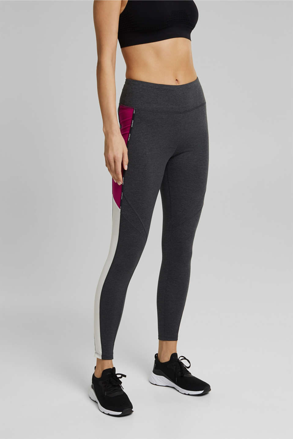 Esprit - Leggings colour blocking, E-DRY