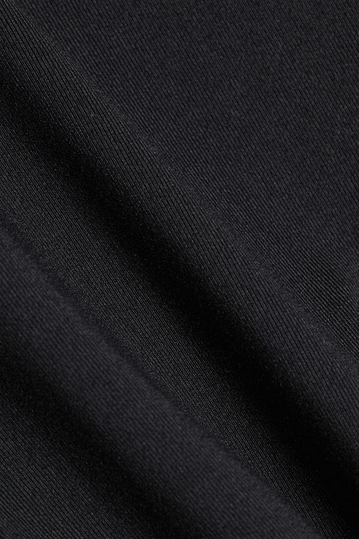 Active-Leggings mit Lasercut, E-DRY, BLACK, detail image number 4