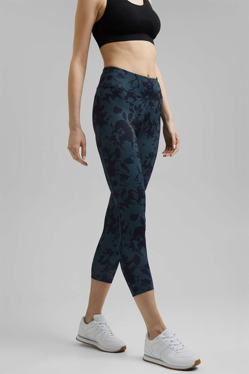 Esprit - Recycled: high-performance leggings with a print, E-DRY