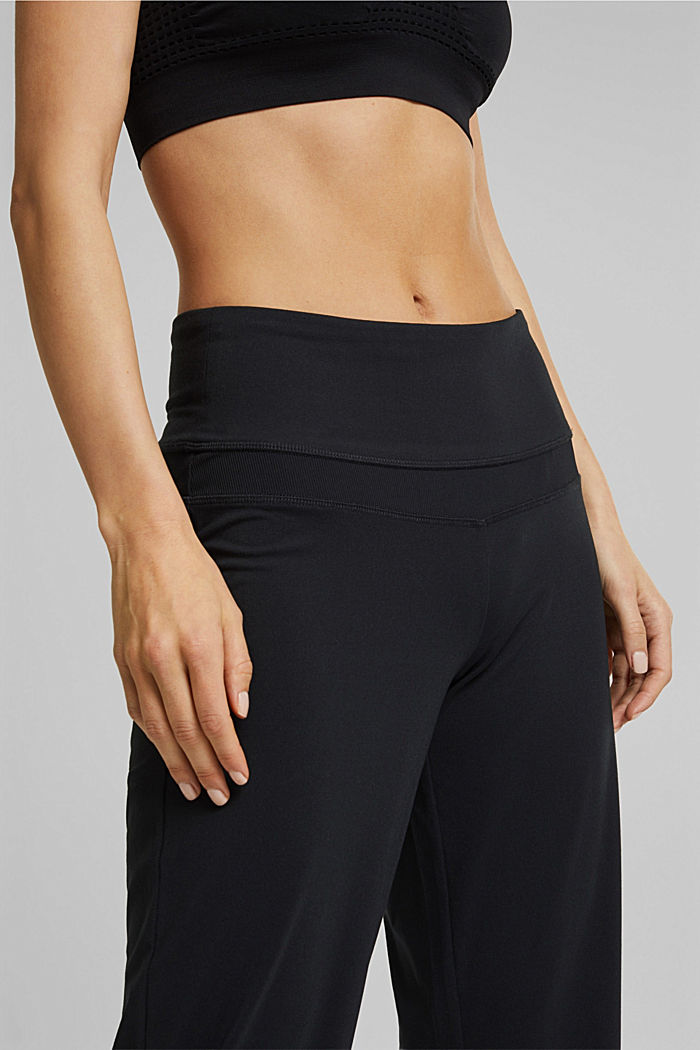 Recycelt: Active Pants mit E-DRY, BLACK, detail image number 5