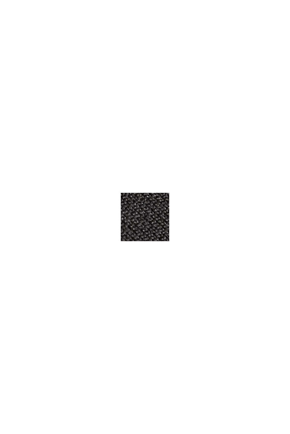 Active Outdoor-Jacke mit Material-Mix, BLACK, swatch