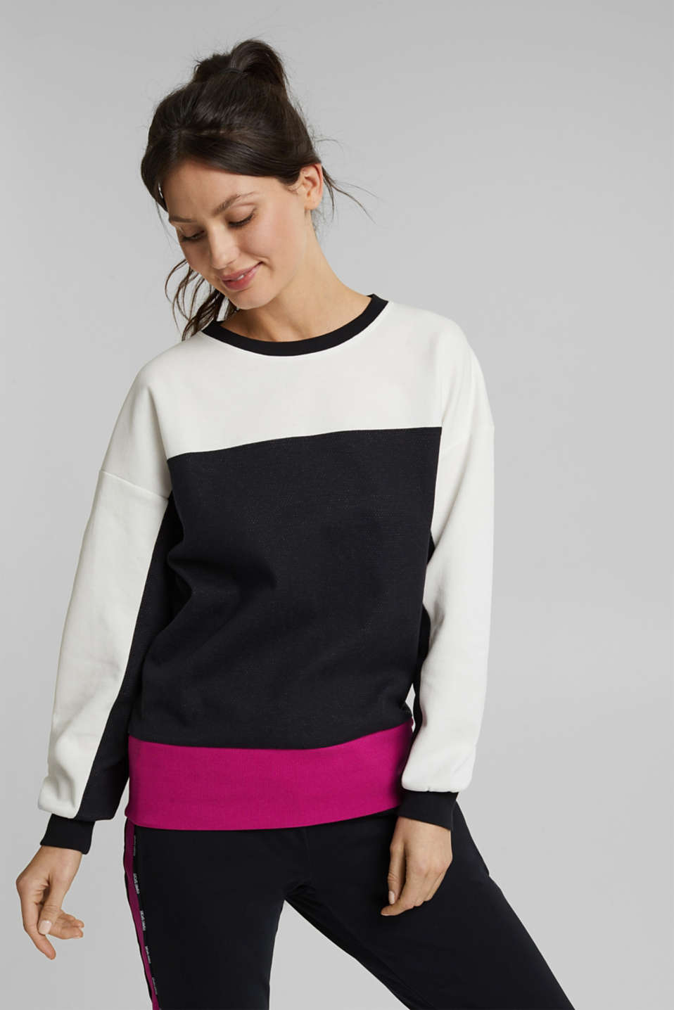 Esprit - Organic cotton sweatshirt