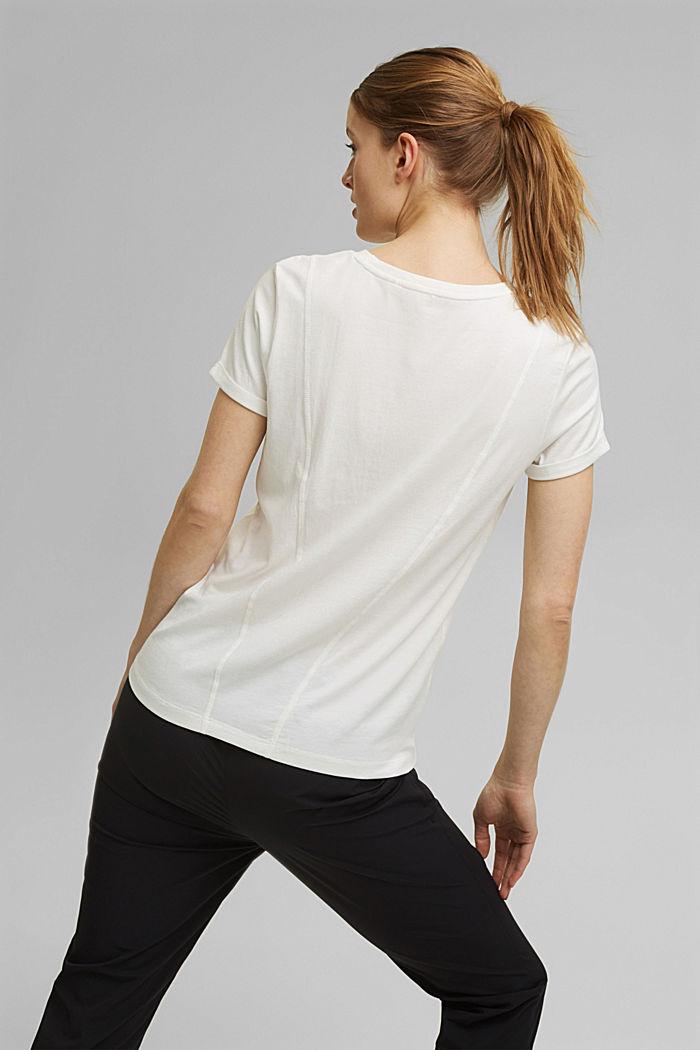 Camiseta estampada con algodón ecológico, OFF WHITE, detail image number 3