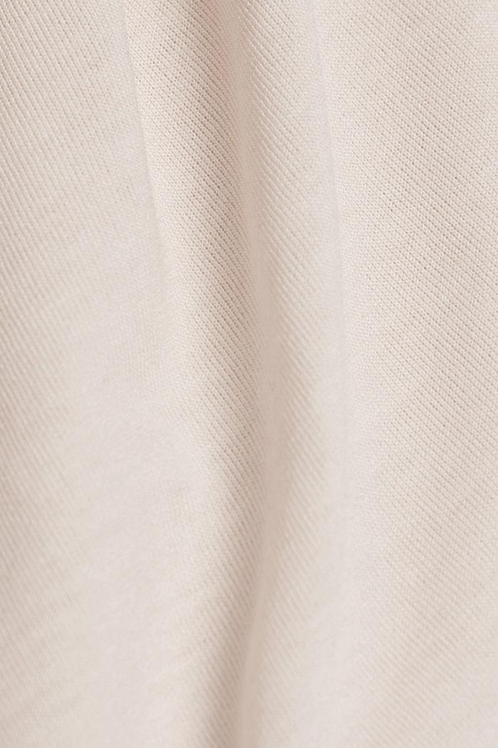 Active Shirt mit Logo-Print, PEACH, detail image number 4